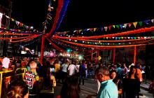 Cinco zonas musicales en evento durante el carnaval.