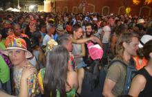 Baila la calle se realizó durante tres días en el Par Vial de la carrera 50.