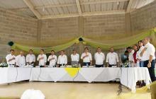 La sesión de la Asamblea en la Apartada, Córdoba, se realizó en la institución educativa Indepaz.