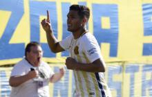 Teófilo Gutiérrez volvió al gol con Rosario