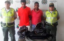 Policía captura a banda que robaba redes eléctricas