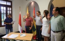 Alcalde Char posesiona a cuatro funcionarios de su gabinete