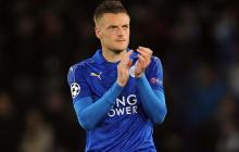 Jamie Vardy, delantero inglés que milita en el Leicester City.