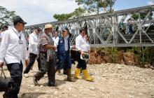 Presidente Santos dice que Mocoa no será reubicada