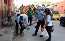 Programa 'Entornos Seguros' llegó a la plaza San José