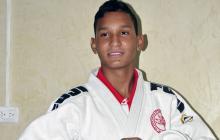 Judoca barranquillero Juan Pablo Ruiz, por un cupo a la Selección
