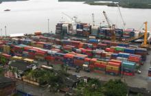 Imágenes del puerto de Buenaventura.