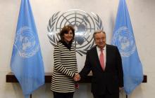 Canciller Holguín habló del Proceso de Paz y Venezuela con la ONU