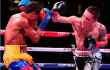 Tremenda pelea, pero perdió Miguel Marriaga
