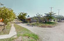 Sector del barrio La Candelaria, de Soledad, donde el delincuente raptó a la niña.