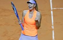 Sharapova llega a semifinales de Stuttgart