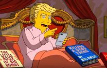 Donald Trump en la serie de Los Simpsons.