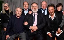 El elenco de la película se reunió durante un festival de cine.
