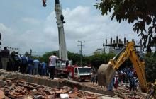 Sube a 21 el número de muertos tras desplome de edificio en Blas de Lezo