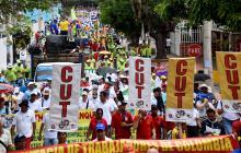 Marchas realizadas en Barranquilla.