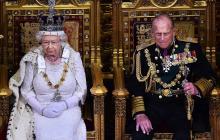 La Reina Isabel II y el príncipe Felipe de Edimburgo.