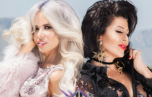 'Cuando Un hombre te enamora', el dueto de Gloria Trevi y Alejandra Guzmán