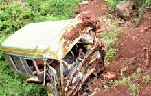 Mueren 29 niños y tres adultos en un accidente de autobús escolar en Tanzania