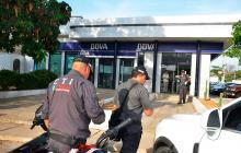 Taquillazo en el banco BBVA en Riohacha