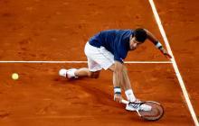 Masters de Madrid: Murray cae, Nadal y Djokovic siguen firmes