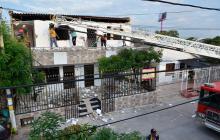 Susto en el barrio Alfonso López por desplome de plafón