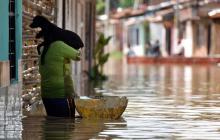 Al menos dos muertos e inundaciones dejan fuertes lluvias en el país