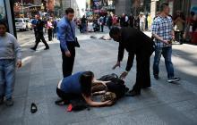 Atropello masivo en Times Square deja un muerto y 23 heridos