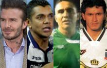 David Beckham, Amado Guevara, Jaime Moreno y Marco Etcheverry aparecen en la lista de nominados.