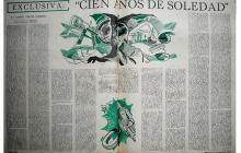 Anticipo del primer capítulo de 'Cien años de soledad', publicado en el Magazín Dominical de El Espectador en 1966.