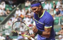 Nadal y Djokovic avanzaron a la tercera ronda de Roland Garros