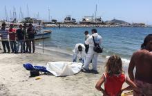Lancheros hallaron ahogado a turista bogotano en la Bahía de Santa Marta