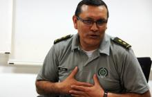 General José Vicente Segura, hoy director de Talento Humano de la Policía.