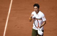 Nishikori remonta ante Verdasco en octavos de Roland Garros