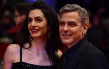 Nacen los gemelos de George y Amal Clooney, Ella y Alexander
