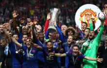 Manchester United ganó la Europa League esta temporada.
