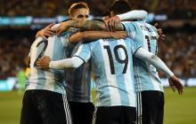 En el debut de Sampaoli, Argentina venció 1-0 a Brasil