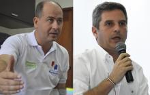 Marcos Pineda y Carlos Correa, capturados, según información reportada por la Fiscalía.