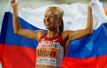 La atleta Inga Abitova, una de las suspendidas.