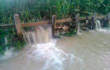 Rebosamiento del río Sinú deja 30 mil afectados en cuatro municipios de Córdoba