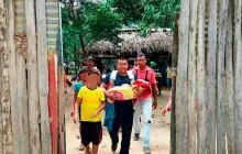 Se ahoga niña indígena de dos años en una quebrada en Tierralta