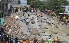 Ordenan estudios técnicos a edificio contiguo al que se desplomó en Cartagena
