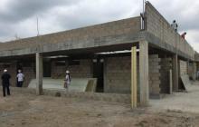 Pasados 17 meses desde la fecha en que debió entregarse, la obras del hospital de El Copey se encuentran en 52%.
