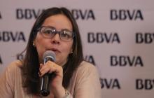 La economista jefe de BBVA Colombia, Juana Téllez.