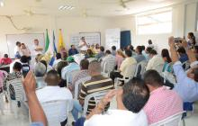 El aporte académico de la Universidad de Córdoba en el posconflicto ha sido socializado con las autoridades en el mismo municipio de Tierralta.