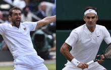 Federer se cita con Cilic y con la historia en la final de Wimbledon