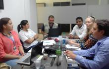 Representantes del Programa Mundial de Alimentos revisaron cómo van los procesos, la implementación y las condiciones del PAE en Uribia.
