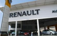 Concesionario de vehículos de la marca Renault.