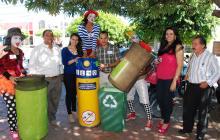 Presentación de la campaña ambiental.