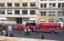 Evacuan edificio de MinTic en Bogotá por fuga de gas