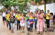 """Vecinos de El Esfuerzo """"festejaron"""" 50 años en el olvido del Estado"""